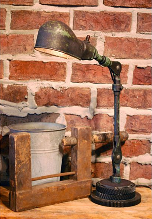 Machine Head Table Lamp at werd.com
