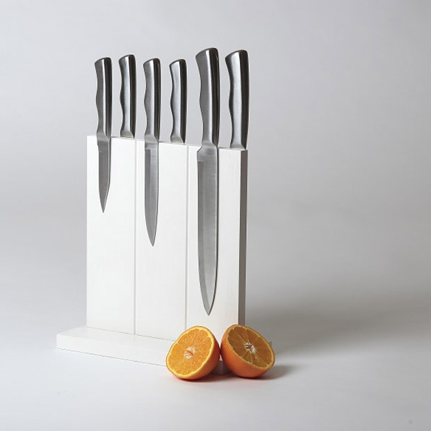 Magnetic Knife Block at werd.com
