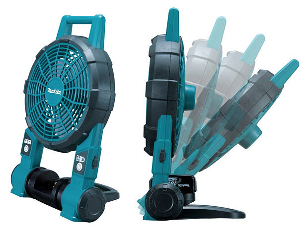 Makita Lithium-Ion Cordless Fan at werd.com