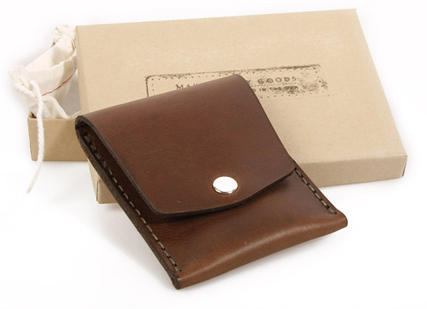 Makr Vertical Pocket Wallet at werd.com