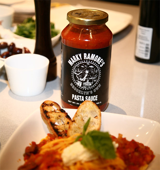Marky Ramone&#8217;s Pasta Sauce at werd.com