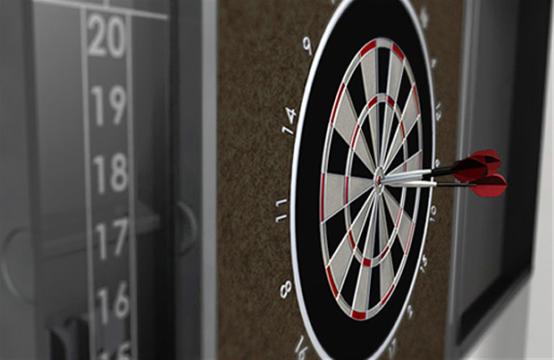 Mars Made Dart Board Set at werd.com