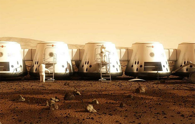 Mars One at werd.com