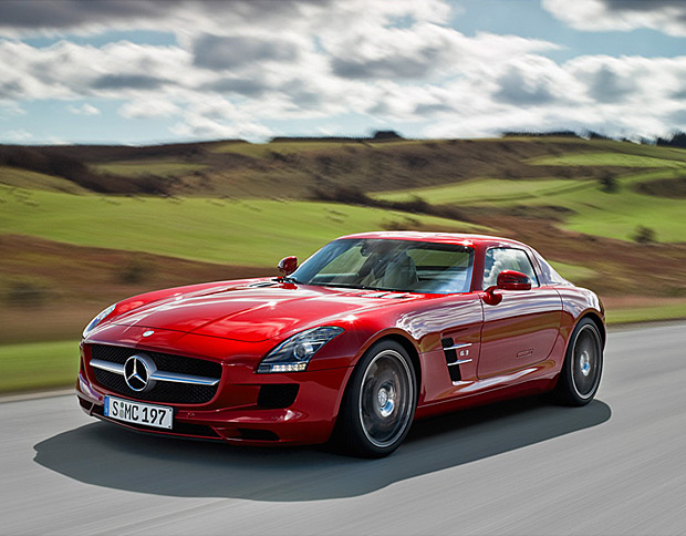 2011 Mercedes SLS AMG Gullwing at werd.com