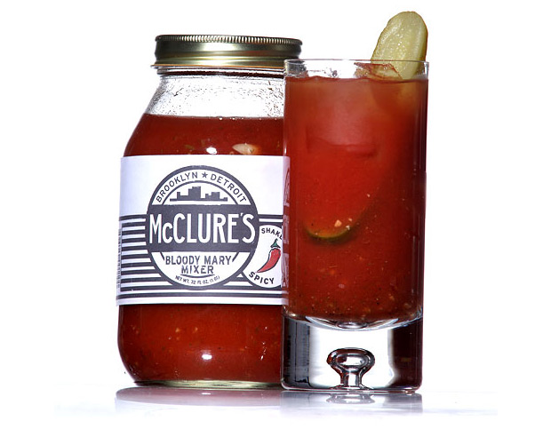 McClure's Spicy Bloody Mary Mix at werd.com