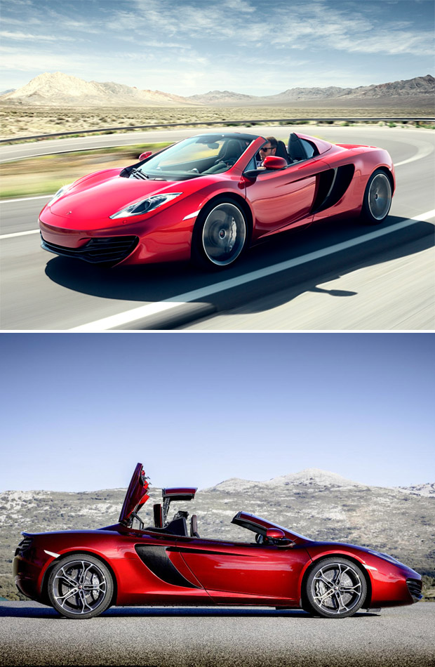 McLaren MP4-12C Spider at werd.com