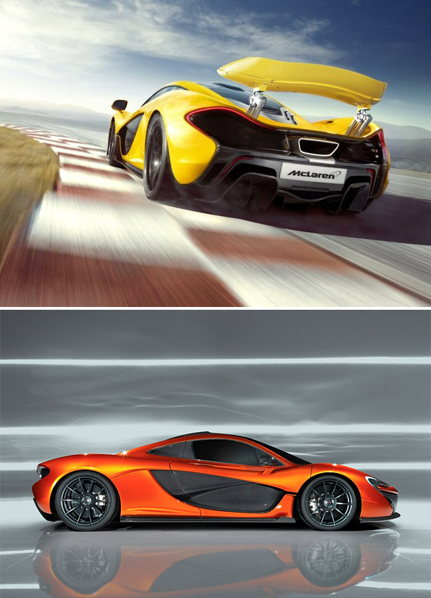 McLaren P1 (update) at werd.com