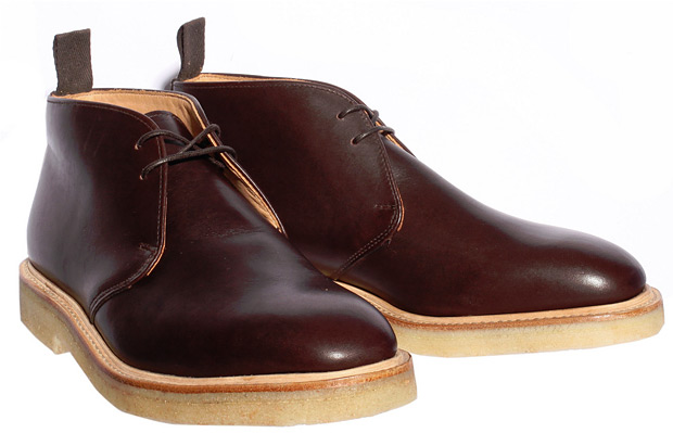 Mark McNairy Crepe Chukka Boot at werd.com