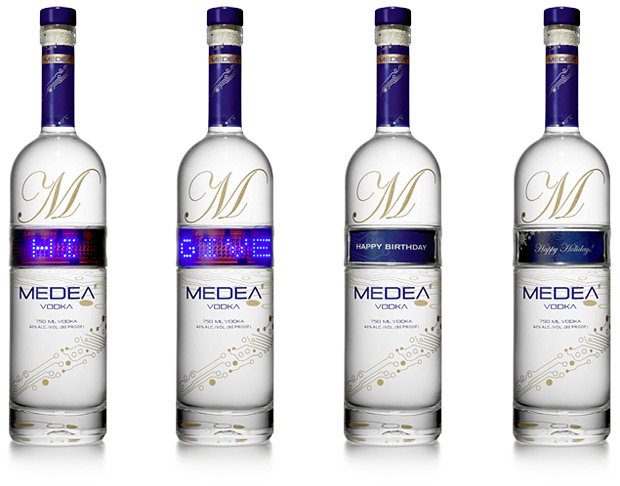 Medea Vodka at werd.com