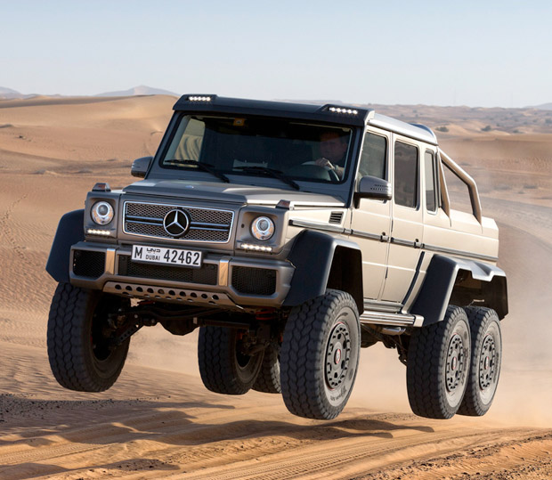 Mercedes-Benz G63 AMG 6×6 at werd.com
