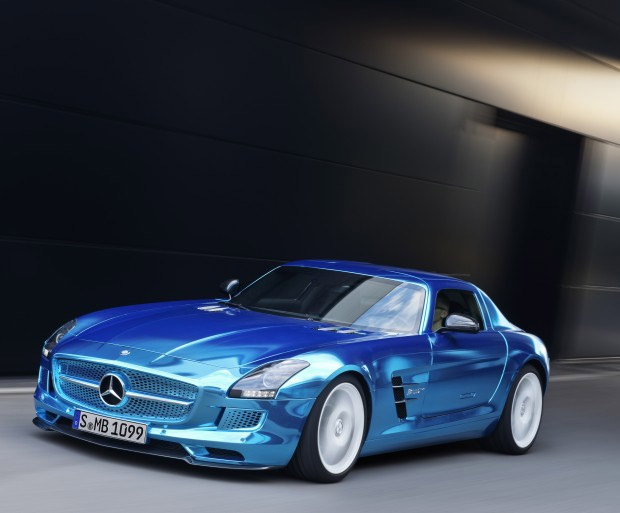 Mercedes-Benz SLS AMG Coupe Electric Drive at werd.com