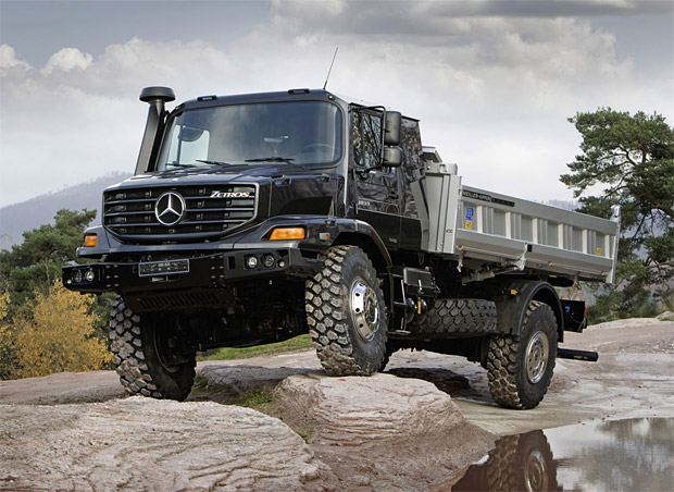 Mercedes Benz Zetros at werd.com