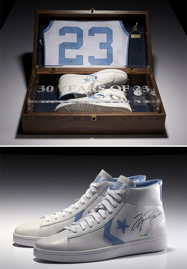Michael Jordan x Converse Limited Edition Signed Commemorative Pack at werd.com