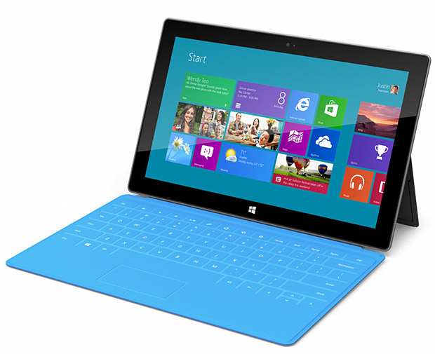Microsoft Surface Tablet at werd.com