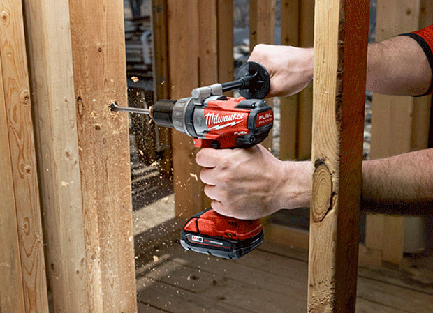 Milwaukee M18 FUEL Cordless Hammer Drill at werd.com