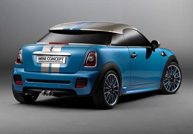 2011 Mini Coupe Concept at werd.com