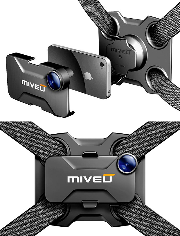 Miveu iPhone POV System at werd.com