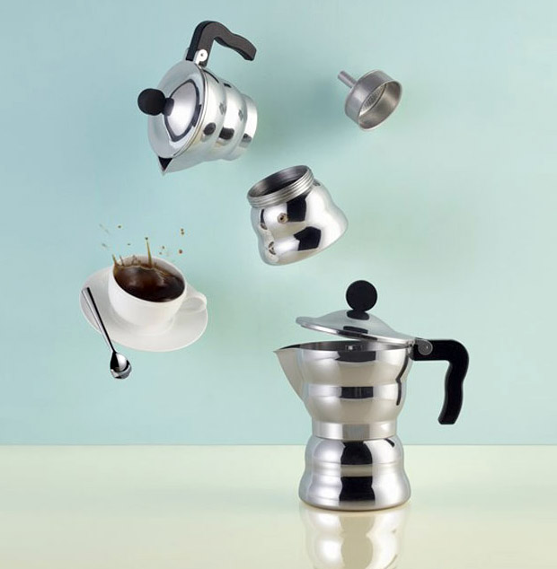 Moka Alessi Espresso Coffee Maker at werd.com