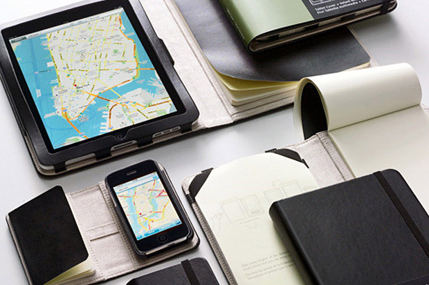 Moleskine Covers for iPhone/iPad at werd.com