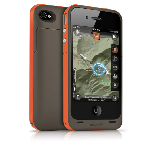 Mophie Juice Pack Outdoor Edition at werd.com