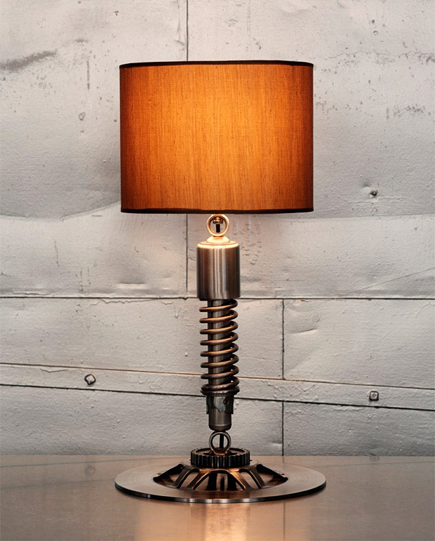 Vintage Motorcycle Lamp at werd.com
