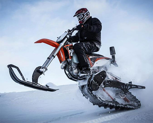 Mountain Horse Dirt Bike Snow Conversion Kit at werd.com