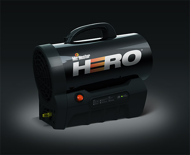Mr Heater Hero Cordless Forced Air Heater at werd.com