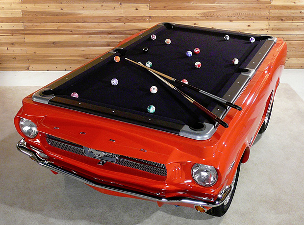 Mustang Pool Table at werd.com