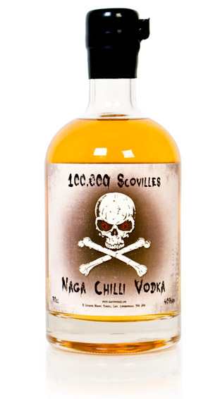 100,000 Scovilles – Naga Chilli Vodka at werd.com