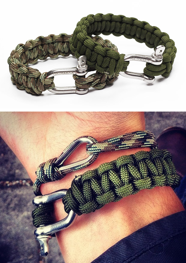 Naimakka Paracord Bracelet at werd.com