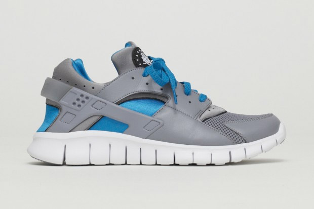 2012 Nike Huarache Free Run Stealth at werd.com