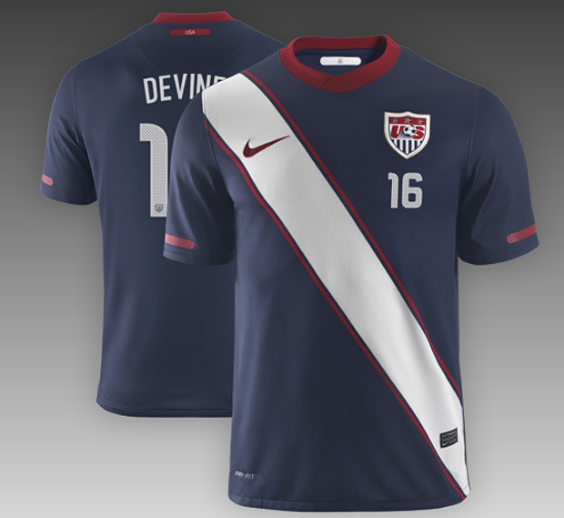 Nike's US Official Men's Soccer Jersey at werd.com