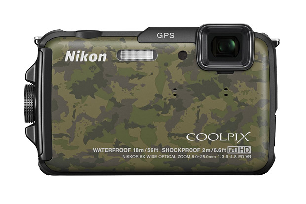 Waterproof &#038; Shockproof Nikon COOLPIX AW110 at werd.com
