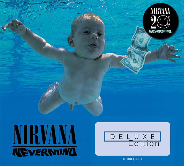 Nirvana Nevermind 20th Anniversary Re-issue at werd.com
