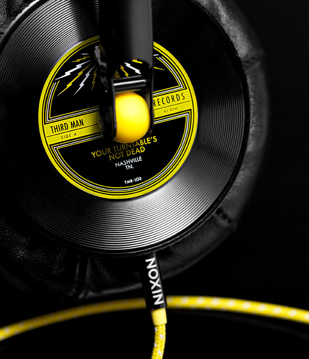 Nixon x Third Man Records Headphones at werd.com