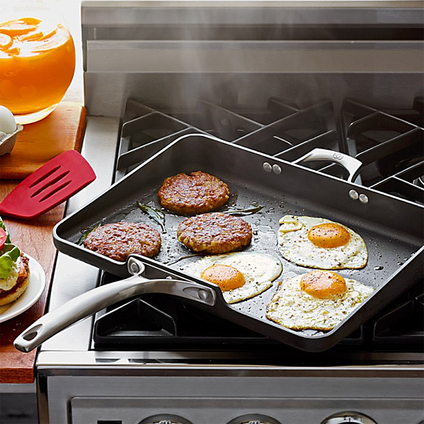 Calphalon Unison Nonstick Short Order Griddle at werd.com