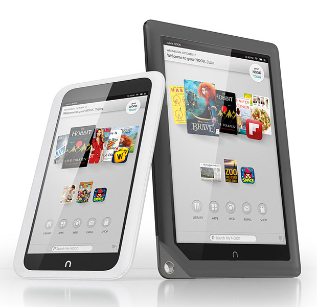 Nook HD & HD+ at werd.com
