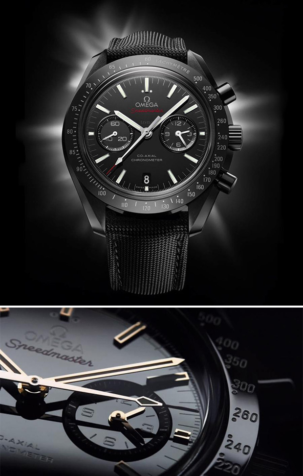 Omega Speedmaster Dark Side of the Moon at werd.com