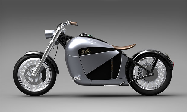 Orphiro Electric Motorcyle at werd.com