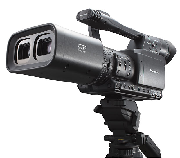 Panasonic 3D Professional Camcorder at werd.com