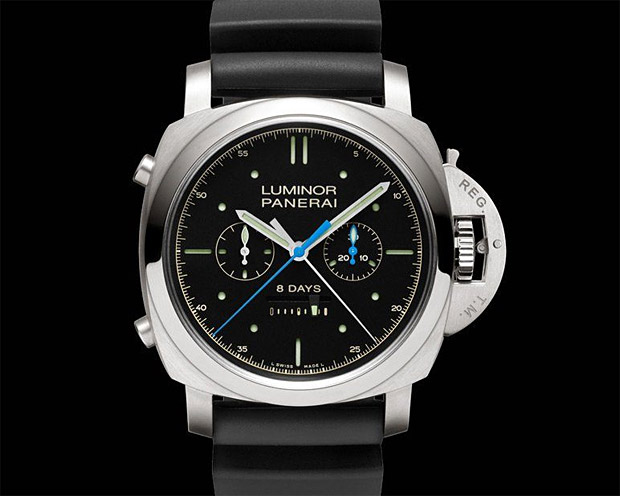 Panerai Luminor 1950 Rattrapante 8 Days Titanio Special Edition at werd.com