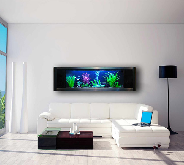Panoramic Wall Aquarium at werd.com