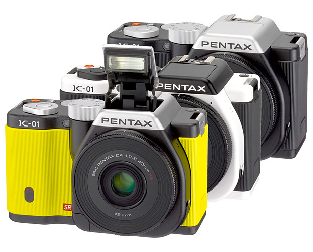 Pentax K-01 at werd.com