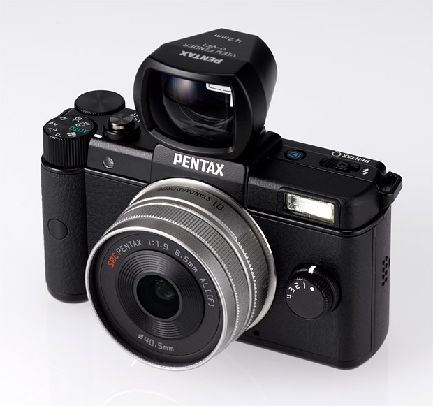 Pentax Q Black at werd.com