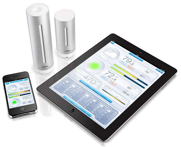 Personal Weather Station for iPhone &#038; iPad at werd.com