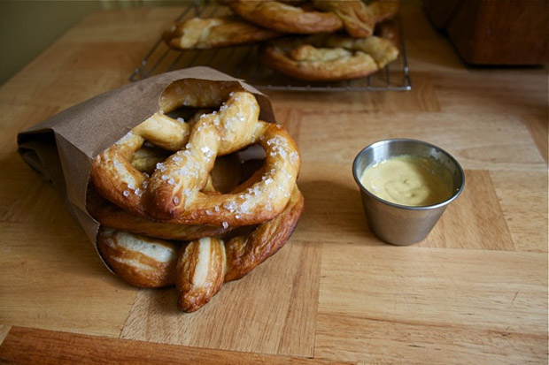 Philly-style Soft Pretzels at werd.com