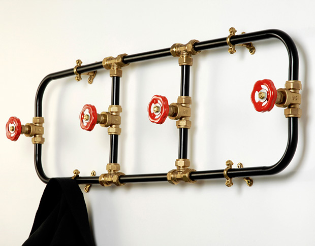 Pipework Series Coat Rack at werd.com