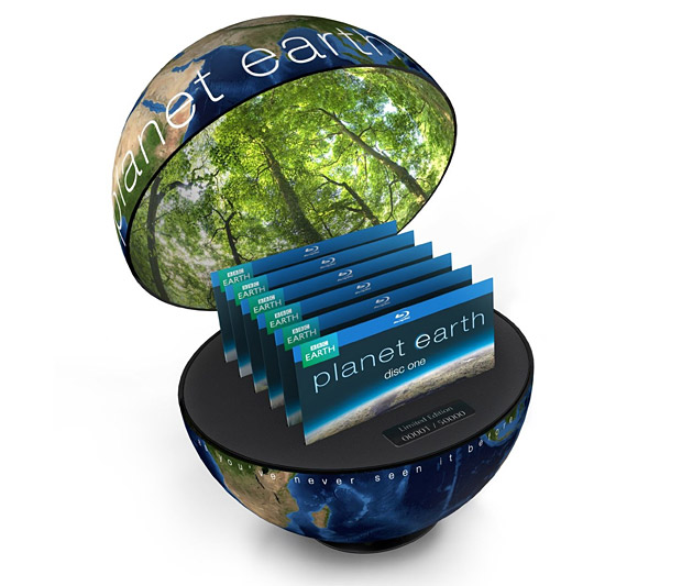 Planet Earth: Limited Edition at werd.com
