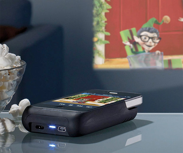 Pocket Projector for iPhone at werd.com