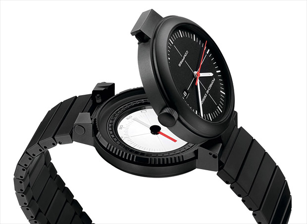 Porsche Design P'6520 Compass Watch at werd.com
